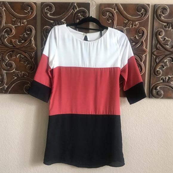 Lulu's Dresses & Skirts - Color Block Dress